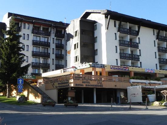 Hotel Royal Rochebrune: Endroit où est l'Hotel.