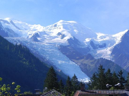 Hotel Royal Rochebrune: A deux pas du Mont-Blanc.