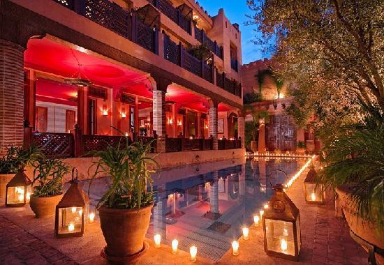 La Maison Arabe: Restaurant