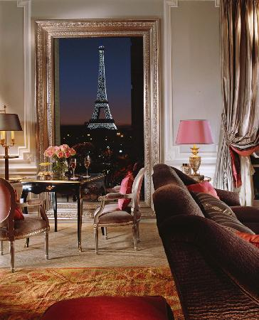 Image result for plaza athenee view eiffel