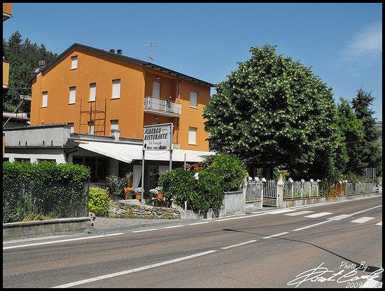 Vergato, Italien: L'albergo in primavera