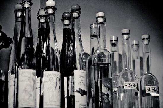 Fidazerhof: Spirituosen