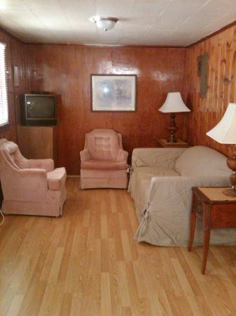 Tar Heel Cottages: Cottage #1 living room