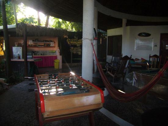 Pura Vida Hostel: Common area.