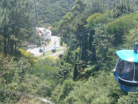 Balneário Camboriú, SC: Vista desde el teleferico