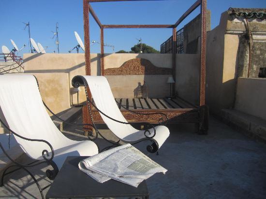 Riad Jamai: La terrasse