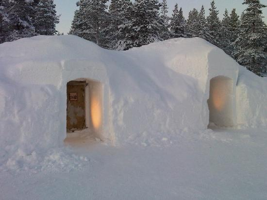Igloos In The Arctic Inside the lovely toas...