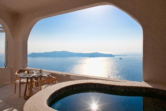 Gold Suites: Romantic views