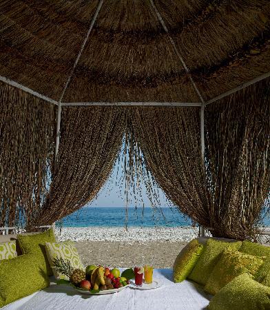 Olympos Lodge: Beach