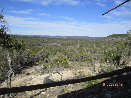 Wimberley Zipline Adventures: view from the top