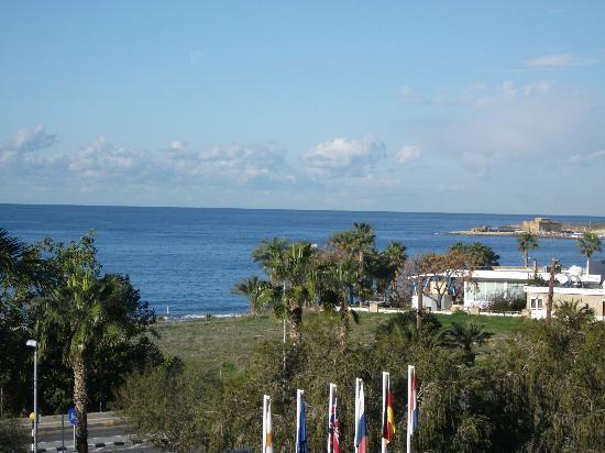 Aloe Hotel: view from balcony