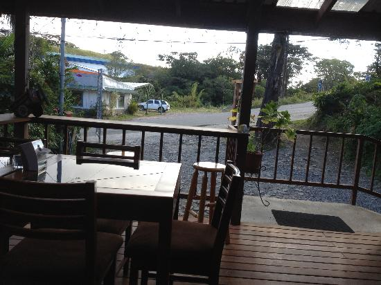 Orchid Coffee Shop: View from the patio