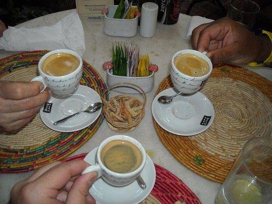 Pitanga : Das Orangeat zum Café ist ausgezeichnet