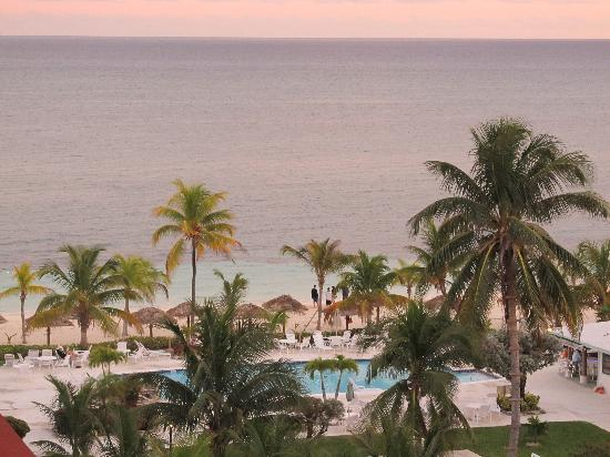 Coral Beach Hotel and Condos: view from the terrace