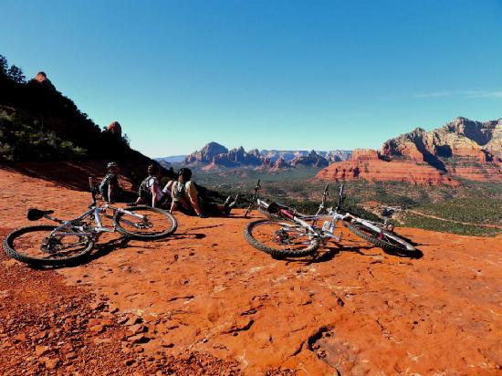 Over The Edge Sports Bike Rentals: mountain bike views