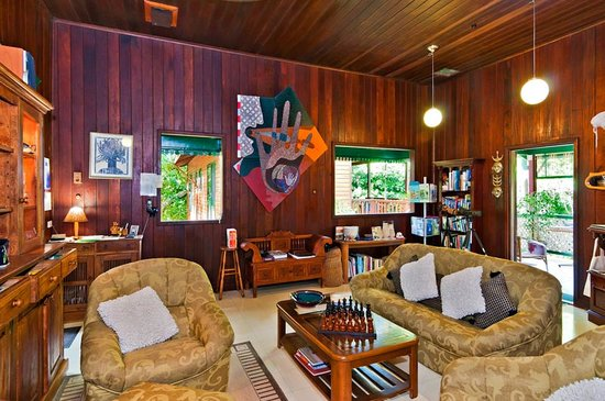 Red Mill House in Daintree: Guest lounge
