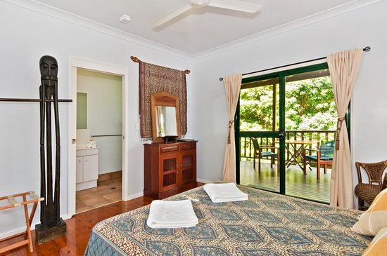 Red Mill House in Daintree: Guest room 'Kingfisher'