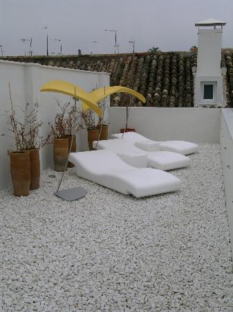 Hotel Viento10: Sunning Area on Roof