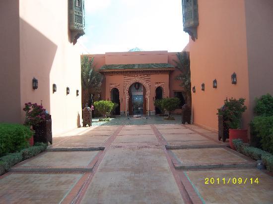 Entree picture of hotel les jardins de l 39 agdal - Hotel les jardins de l agdal marrakech ...