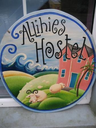 Allihies Village Hostel: Hostel signe