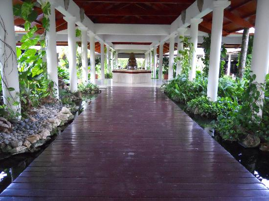 Paradisus Punta Cana Resort: Walway to Main Lobby