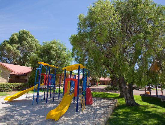 Busselton Villas & Caravan Park: Busselton Villas Great for kids