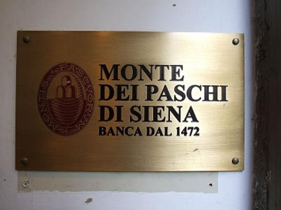 Relais Il Campanile: When your 'Bancomat' has a sign like this over it, you know the bank has a history!