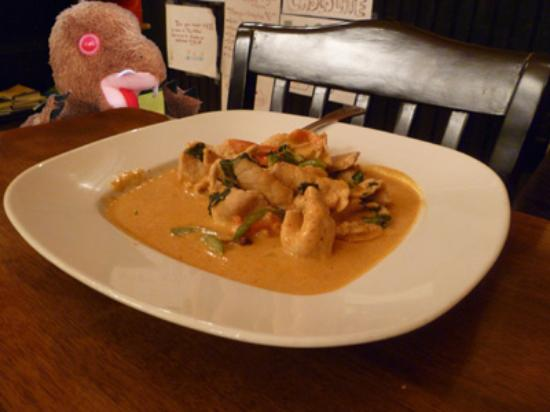 Anong Thai Cuisine: I got back from the restroom just in time for my Penang Curry