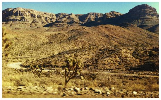 Pink Jeep Tours Las Vegas: On the way to the Grand Canyon