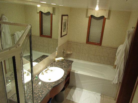 Charlton's Banff: big bathroom