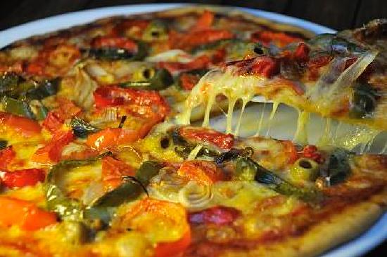 Restaurante Mangle Rojo: Pizza de Vegetales