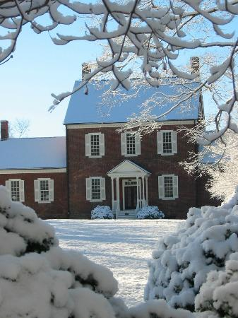 Ayr Mount Historic Site : wintertime