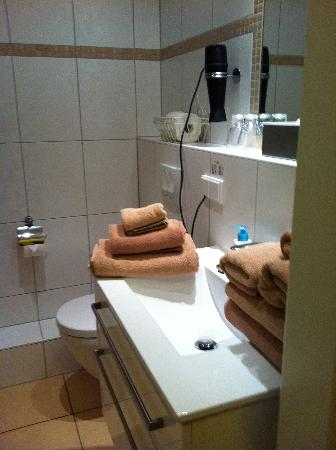 BoardingHouse Heidelberg: Bathroom - beautiful towels