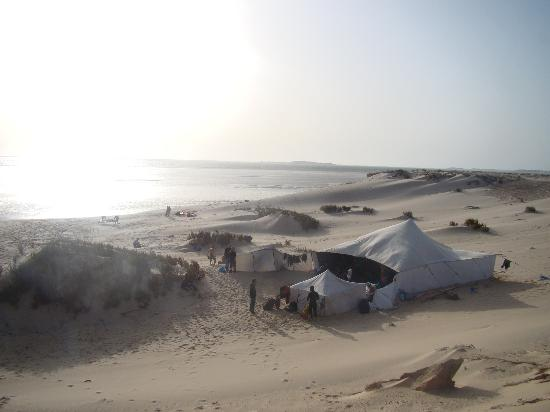 Auberge des Nomades du Sahara : Camp in the desert for one night