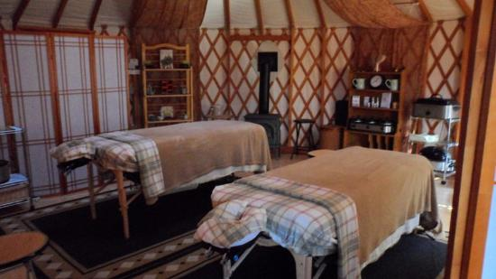 Inn at Schoolhouse Creek: Treatment room