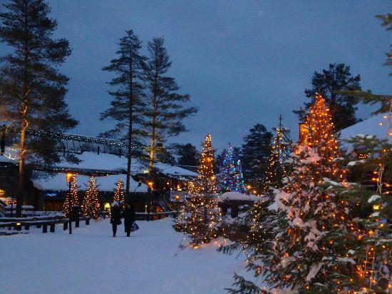 Immagini Del Villaggio Di Babbo Natale.Il Mondo Fatato Del Villaggio Di Babbo Natale Foto Di