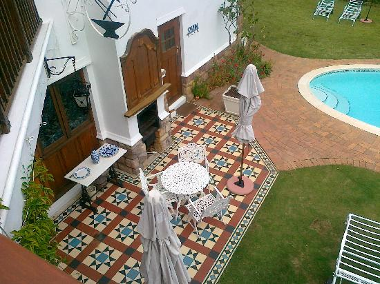 Constantia Woods: Blick vom Balkon