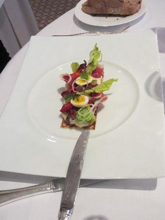 Restaurant Gordon Ramsay : antipasto