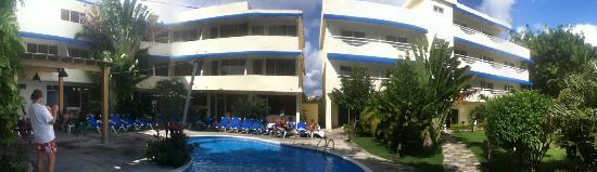 New Garden Hotel: Hotel New Garden, Sosua, Gennaio 2012