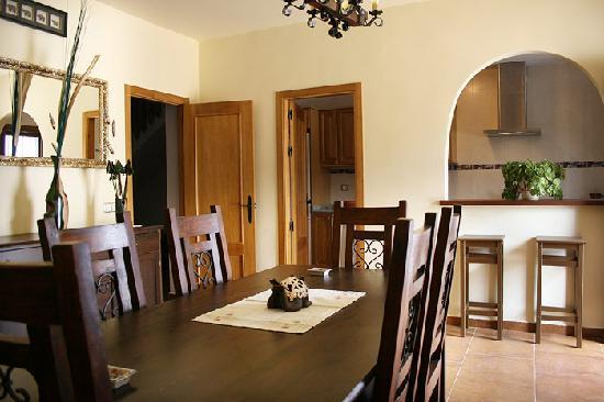 Casas Rurales del Abuelo: Dining room