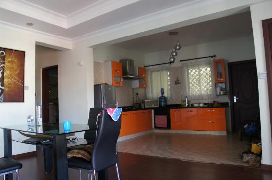 Eldon Villas Limited: dining/living room & kitchen