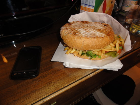 La Maison du Burger LMB: Double American with Cheese and Frites