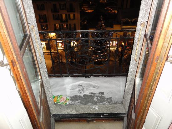 Hotel Richemond: Room 52 - View onto the balcony