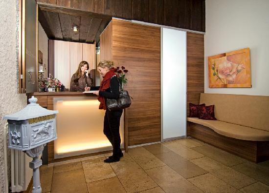 Hotel Alt Bamberg: Rezeption