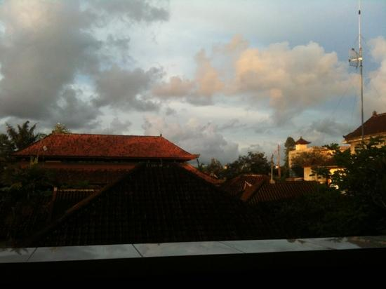 Nick's Homestay: view from balcony