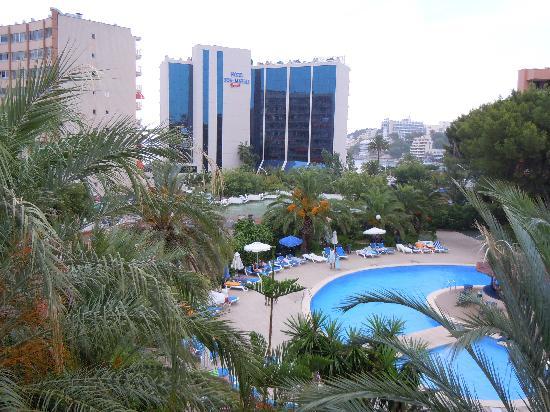 Sol Lunamar Apartments: veduta dalla nostra camera
