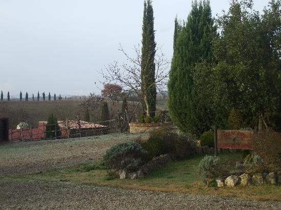 Agriturismo Renaccino: ingresso