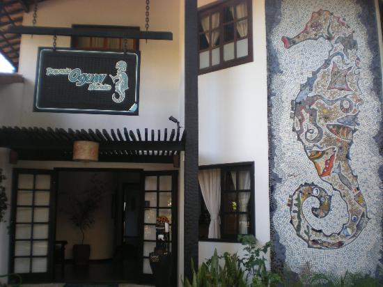 Ogum Marinho: ingreso al hotel