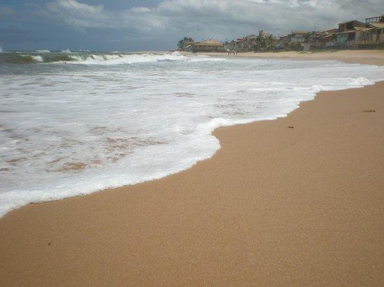 Arembepe, BA: playas al sur