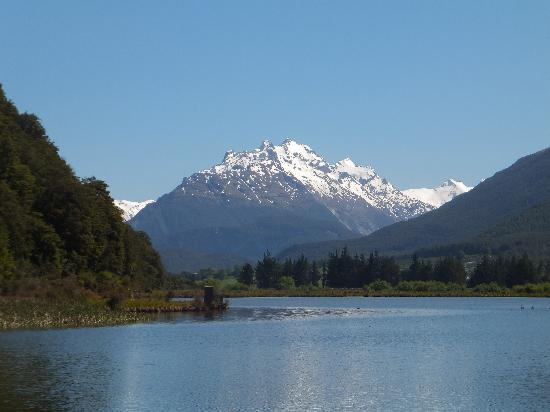 The Glenorchy Hotel: You can put up with quite a bit for views like this!